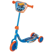 "Самокат 1toy ""Hot Wheels"" 3-х кол. 6""/4"""